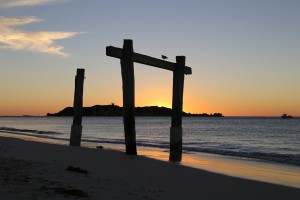 Sunset at Hamelin Bay
